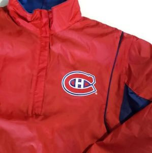 Montreal Canadiens reversible pullover